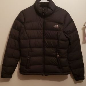 The North Face down puffy jacket
